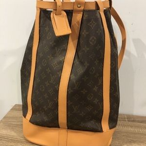 Authentic Louis Vuitton randonnee backpack